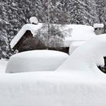 Utakat zárhat el a hétvégén a hó