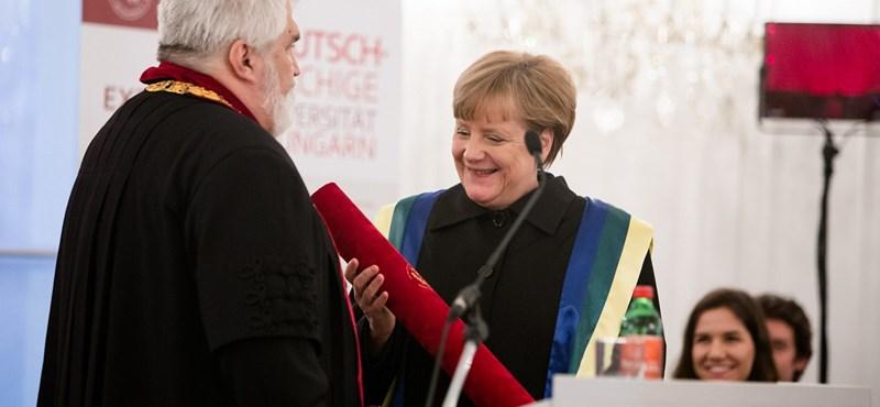 Megszólalt Merkel kedvenc budapesti egyeteme is