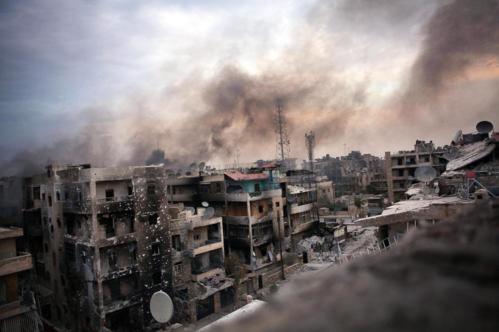 Szíria, polgárháború, hét képei