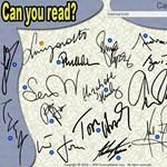 Párperces játék: ki tudjátok olvasni a híres emberek aláírását?