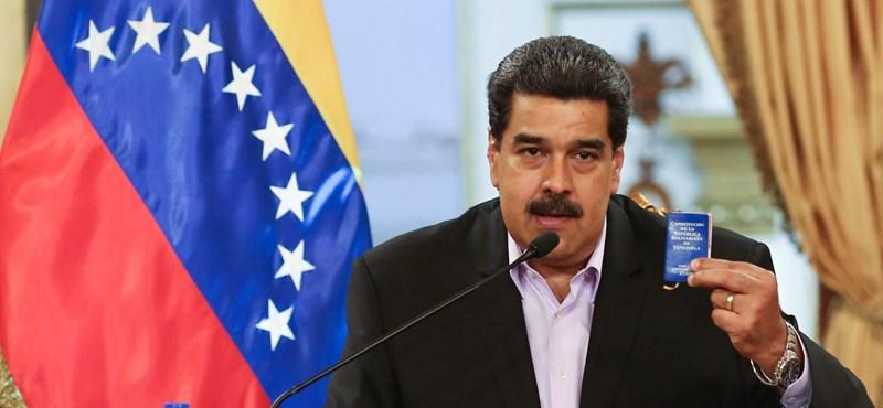Maduro úgy talicskázza ki az aranyat Venezuelából, mintha nem lenne holnap