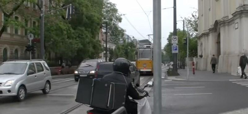 755 autós megint belefutott a Bécsi úti pénzbehajtó kamerába