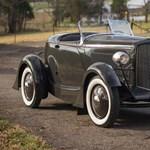 A mai Fordok sem csúnyák, de amit Henry Ford fia tervezett, az tökéletes