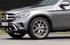 Újabb zöld rendszámos Mercedes: itt a plugin hibrid GLC 300e