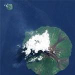 NASA - varázslatos fotó a pápua új-guineai Manam tűzhányóról