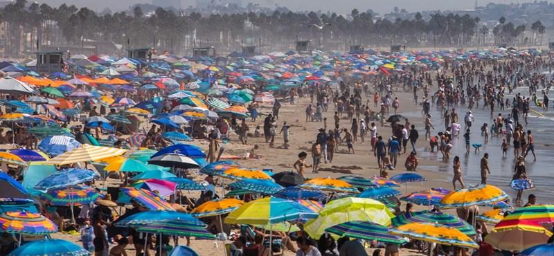 California y Nevada se están secando con un calor sofocante