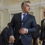 """Putyin """"komoly dokumentumokat"""" íratott alá Orbánnal"""