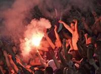 Három hónapra ítélték a szurkolót, aki az Újpest-Felcsút meccsen verekedett