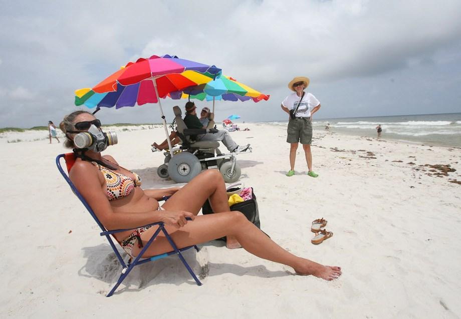 Ahol most is strandolnak - Nagyítás fotógaléria