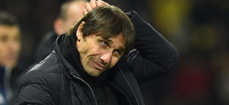 Antonio Contét kirúgta a Chelsea