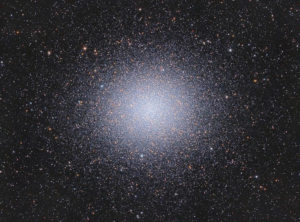 ''Deep Space'' kategória: Omega Centauri - Brit Királyi Obszervatórium, Astronomy Photographer of the Year 2013.