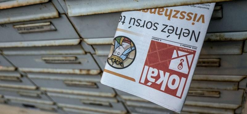 A kormányközeli Lokál 16 oldalából 15 hirdetés