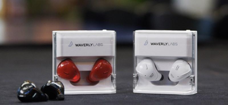 Vége a várakozásnak: már kapható a fülhallgató, ami valós időben fordít két ember között