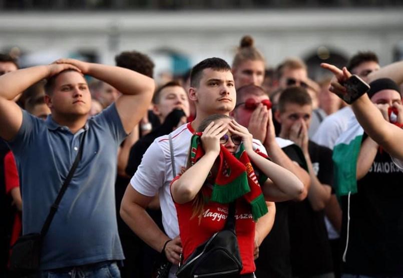 A vége sima lett, Magyarország-Portugália: 0-3