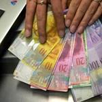 A svájci frank már egy újabb világgazdasági visszaesést árazott be