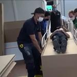 Koporsóvá alakítható kórházi ágyakat terveznek Kolumbiában