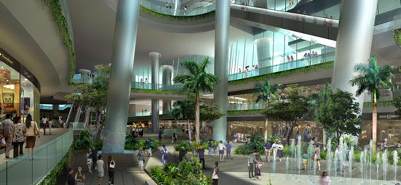 Űrállomás Szingapúrban: új kulturális központ épül