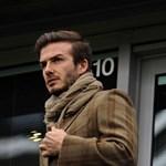 Ha Beckham egyszer kinyitja a száját...
