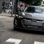 Győrben készül az Audi elektromos szuper-szedánjának karosszériája