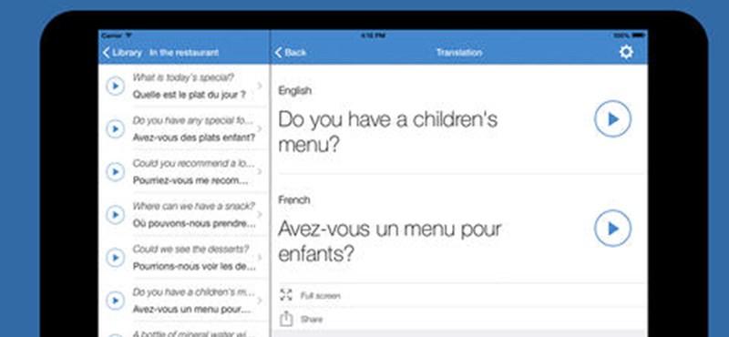 Ingyenes fordítóprogramok: a három legjobb app mobilra