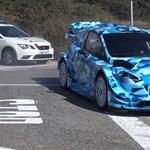 A Ford megvillantotta a legújabb WRC-jét, és pokoli gyors lett