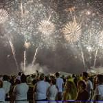 Óriási szilveszteri buli várható a Copacabanán, óriási tömeggel