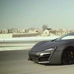 Már tesztelik a 3,4 millió dolláros arab sportkocsit – videó