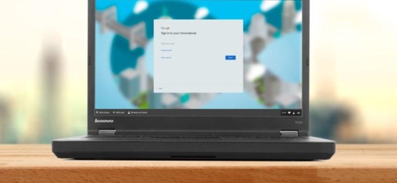 Nem kell kidobni a régi számítógépeket, könnyű lesz feltenni rájuk a Google rendszerét