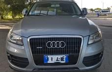 Körözött Audival, kicserélt rendszámmal és hamis forgalmival akart átjutni Röszkén