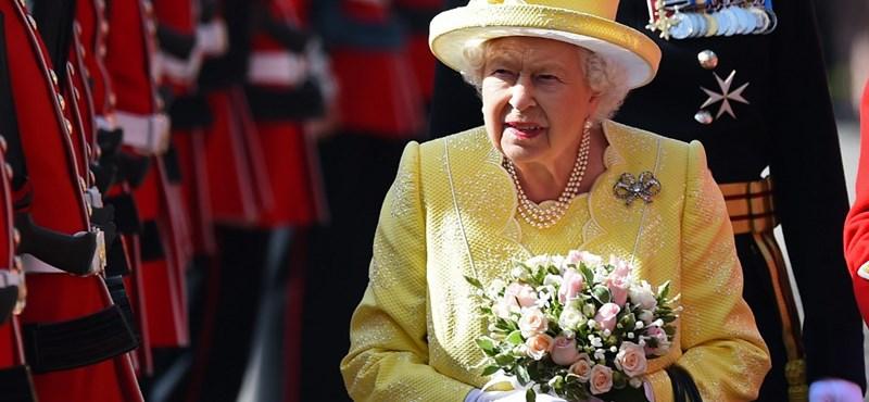 Erzsébet királynő 93 évesen is simán elültet egyedül egy fát