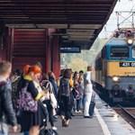 Egy év alatt 3,8 évet késtek a vonatok Magyarországon