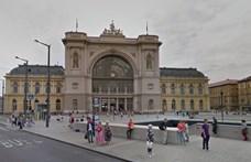 Összeesett és meghalt egy ember a Keleti pályaudvarnál vasárnap
