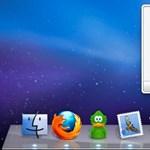 Windows 7 stílusú előkép a Dockhoz OS X-re
