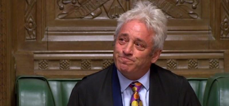 Távozik a brit parlament elnöke, sajátos stílusa sokaknak fog hiányozni