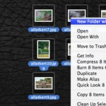Lion tipp: fájlok áthelyezése új mappába, egy kattintással