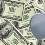 Megállíthatatlan az Apple, továbbra is ömlik a pénz