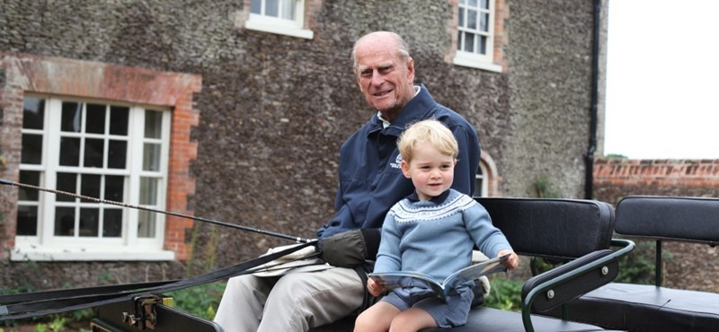 He remembers Prince Philip's grandson in a way he had never seen before