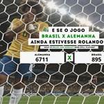 Németország - Brazília: 6711 – 895