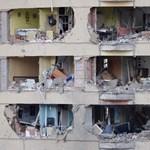 Több sebesült egy burgosi robbantásban (Sokkoló képek)