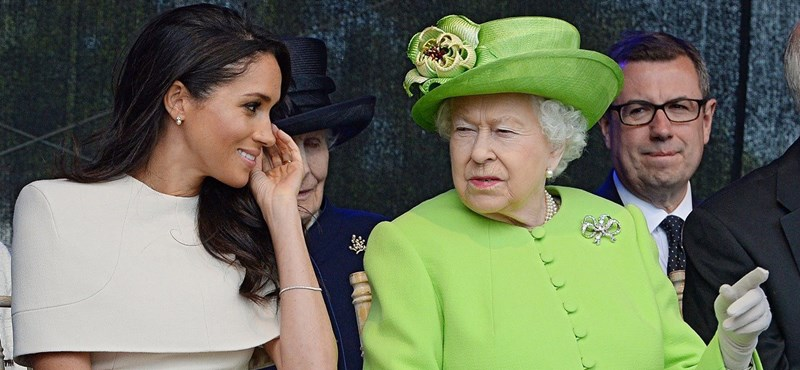 """Meghan Markle is born in the home, just like the Queen """"width ="""" 800 = tall = 370"""
