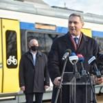Bemutatták a szegedi tram-traint – Fotók