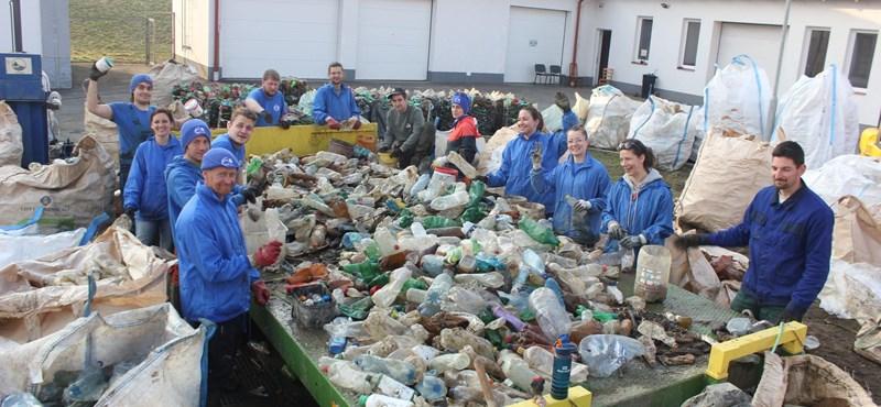 Több mint 42 tonna szemetet emeltek ki a magyarországi vizekből februárban