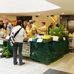 Őstermelői piac nyílt egy budai irodaházban