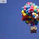 """Az UP! filmben látott """"lufiház"""" mégsem lehetetlen?! (videó)"""