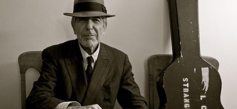 Halála után sem ér véget Leonard Cohen költészete