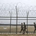 Leálltak a propagandát harsogó hangszórók az észak-koreai határon