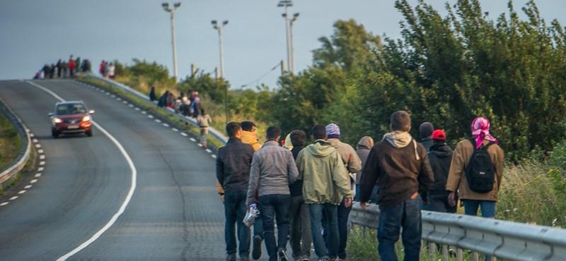 48 menekültet zsúfoltak egy magyar furgonba