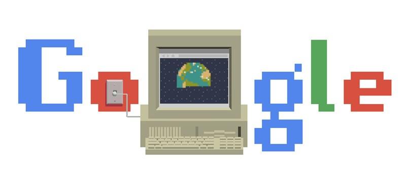 Miért van ma ez a gép és a világháló a Google főoldalán?