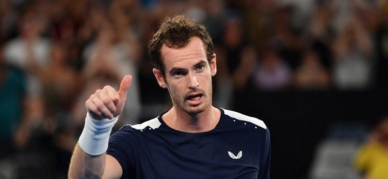 Könnyeivel küszködve nyilatkozott Andy Murray, többé talán nem is játszik