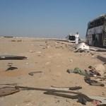 Fotók az egyiptomi baleset helyszínéről